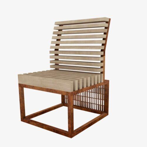 Модульная скамейка Pattern 2