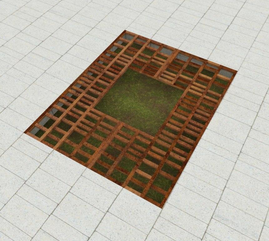 Приствольная решетка Organic Geo